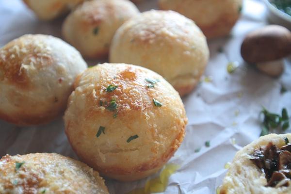 Stuffed Mushroom Rolls // shutterbean