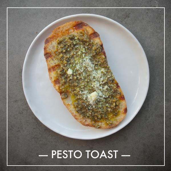 Pesto Toast
