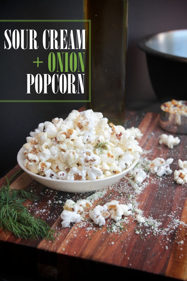 Sour Cream & Onion Popcorn