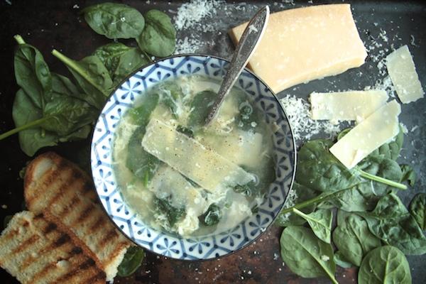 Stracciatella Soup // shutterbean