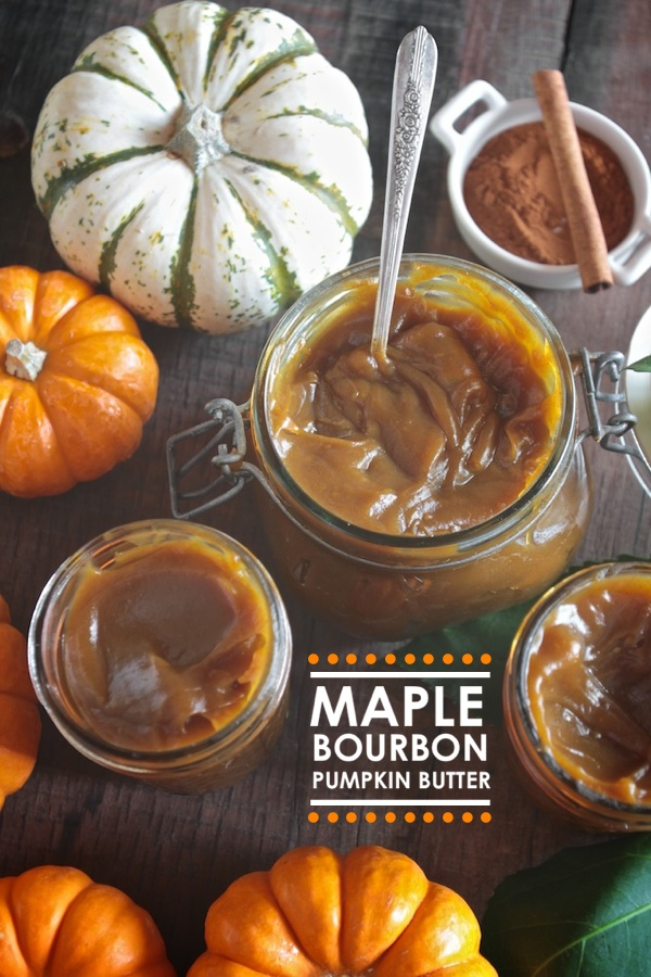 Maple Bourbon Pumpkin Butter