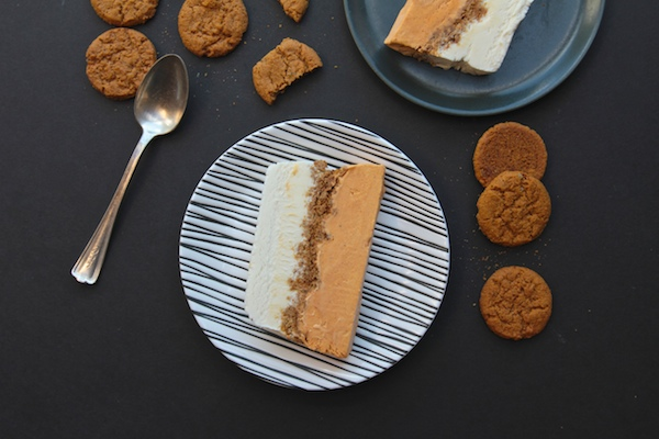 Pumpkin Gingersnap Ice Cream Cake // shutterbean