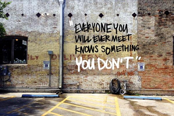 Everyone you will ever meet // shutterbean