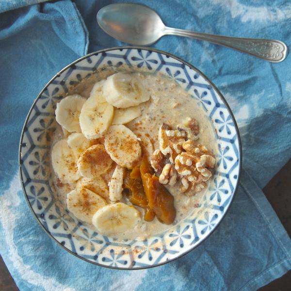 Pumpkin Spice Overnight Oats // shutterbean