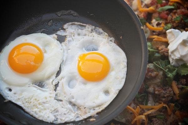 Roasted Potato Breakfast Nachos // shutterbean