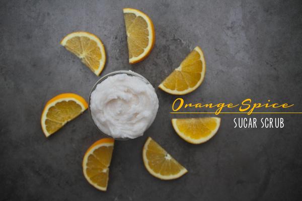 Orange Spice Sugar Scrub // shutterbean