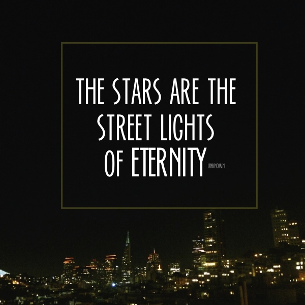 The stars are the street lights // shutterbean