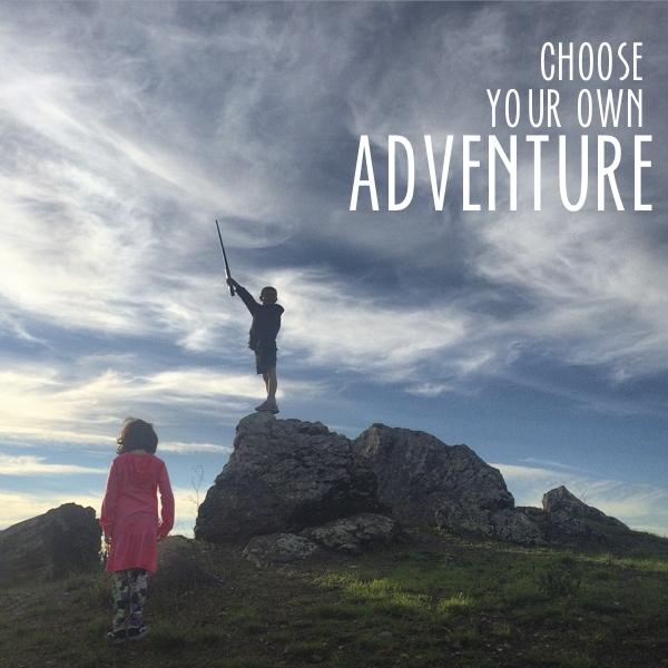 Choose your own adventure // shuterbean