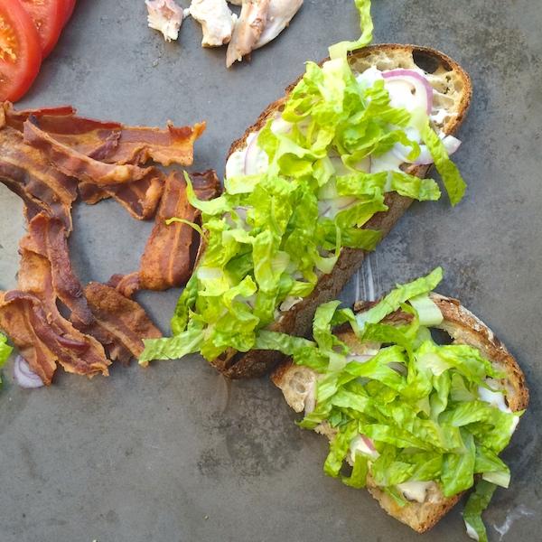 Cobb Salad Sandwich // shutterbean