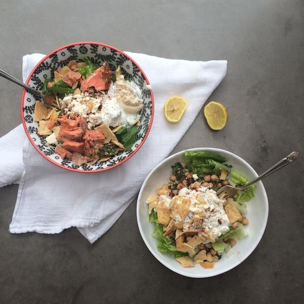 Quick Mediterranean Salad // shutterbean