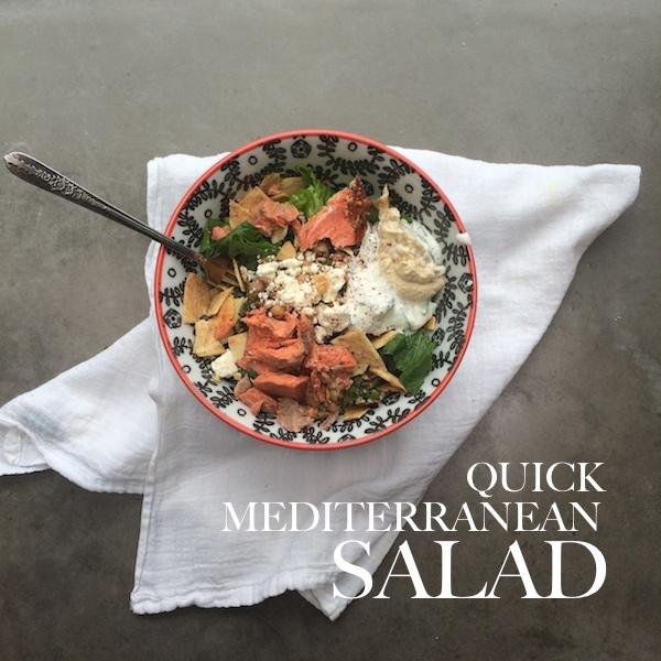 Quick Mediterranean Salad