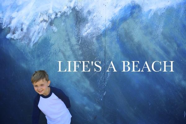 LIFE'S A BEACH!  --shutterbean