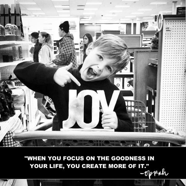 Focus on the goodness // shutterbean