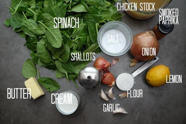 Cream of Spinach Soup // shutterbean