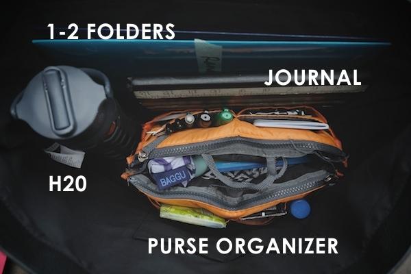 Creating a Purse Organization System // shutterbean