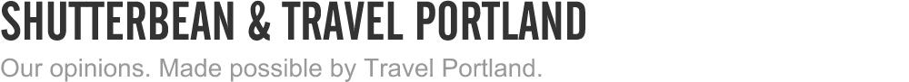 shutterbean + travel portland