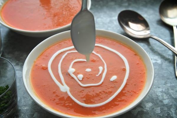 Sidekick Tomato Soup // shutterbean
