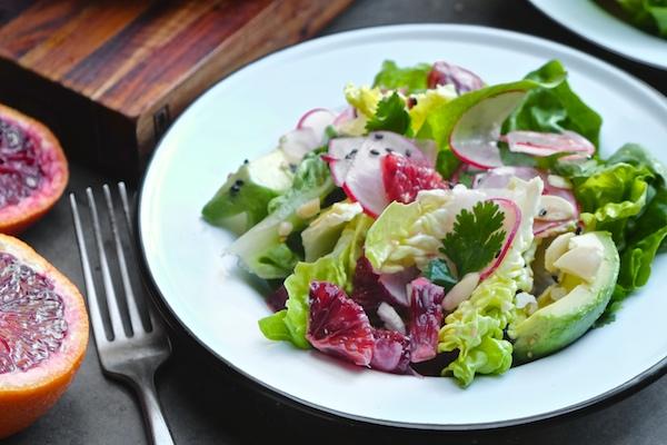Blood Orange & Avocado Salad  || shutterbean  || shutterbean