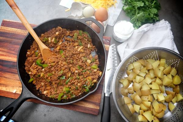 Chorizo Potato Hash || shutterbean