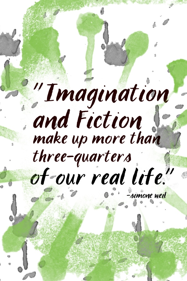 Imagination and fiction make up //shutterbean