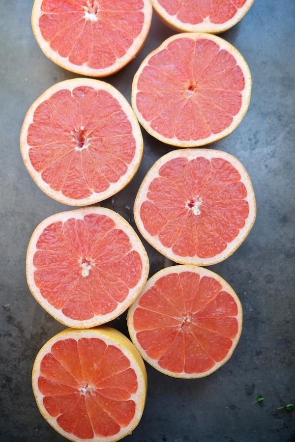 Grapefruit Thyme Cocktail // shutterbean