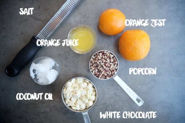 Orange Creamsicle Popcorn // shutterbean