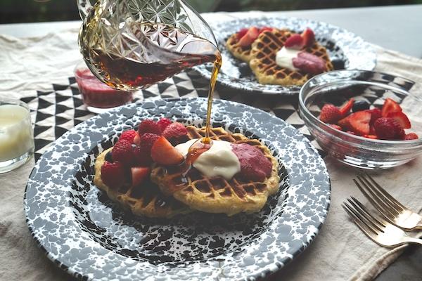 Yogurt Waffles // shutterbean