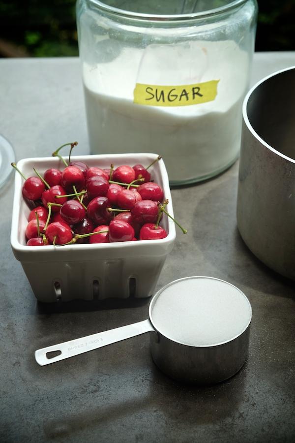 Boozy Cherry Slushies // shutterbean