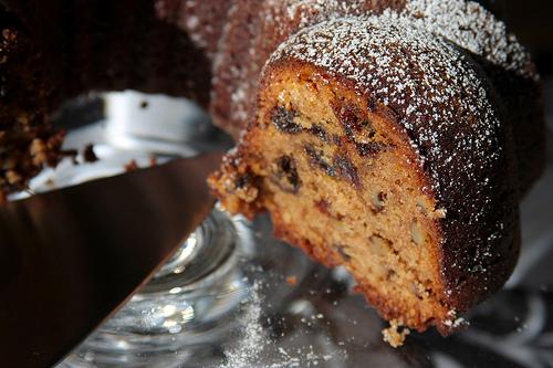 Prune Bundt Cake