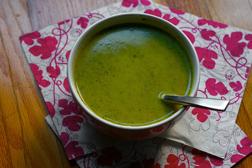Curry Zucchini Soup