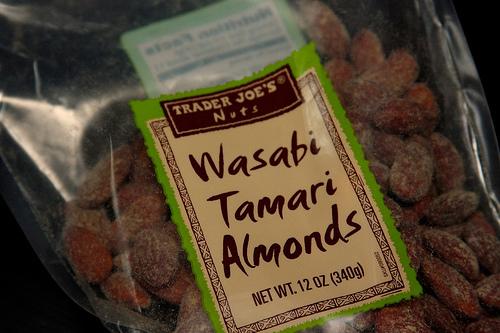Wasabi Tamari Almonds