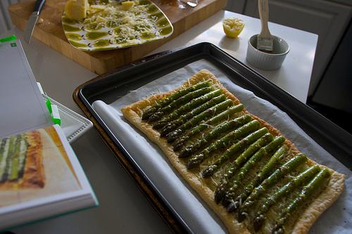 Lemony Asparagus Tart