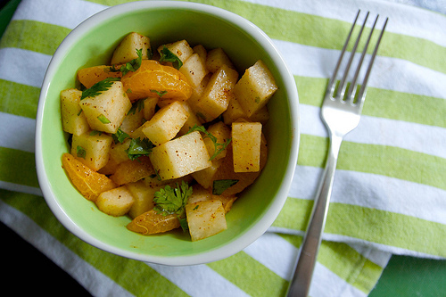 Jicama & Orange Salad