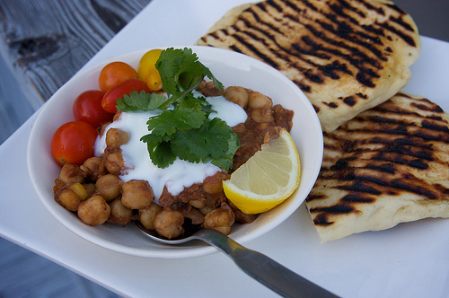 Spiced Indian Chickpeas