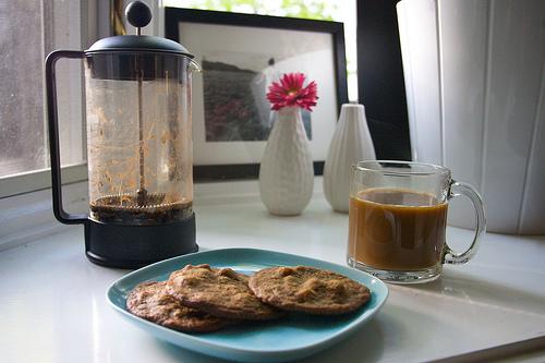Hazelnut Espresso Cookies