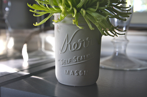 my love for mason jars