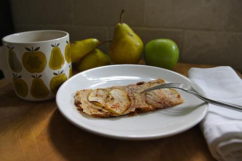 Apple Pear Phyllo Crisp