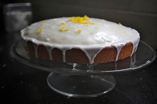 Spiced Lemon Cake