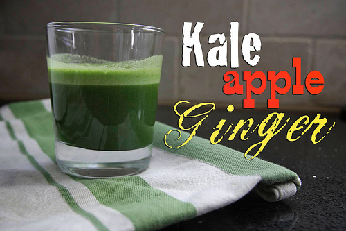 Kale Apple Ginger Juice