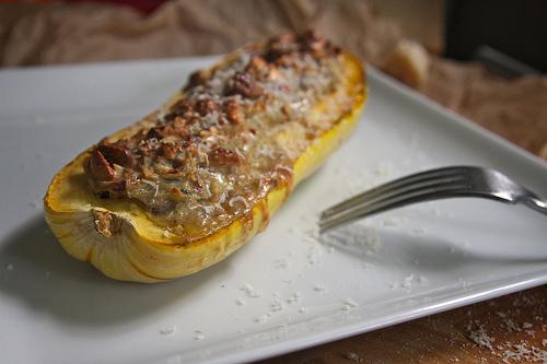 Nut-Stuffed Delicata Squash