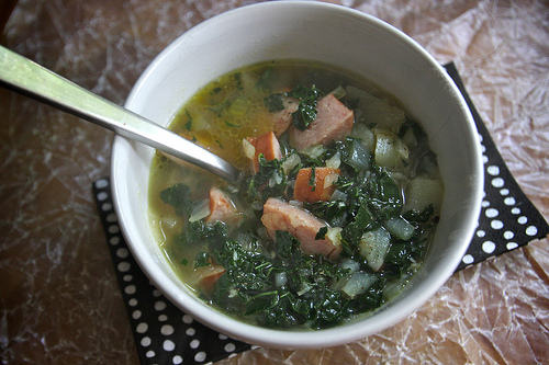 Portuguese Kale & Potato Soup
