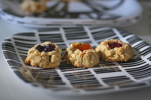 """Life Changing""Vegan Thumbprint Cookies"