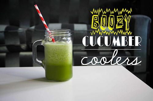 Boozy Cucumber Coolers