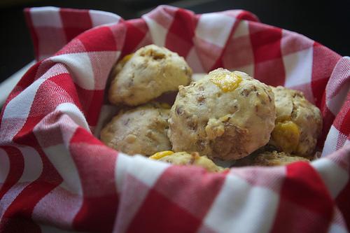 Sausage Cheddar Biscuits