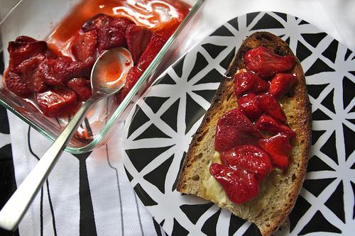 Roasted Strawberries