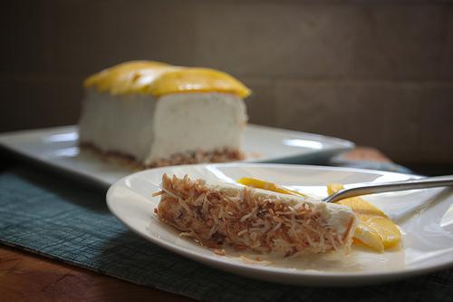 Coconut Lime Semifreddo