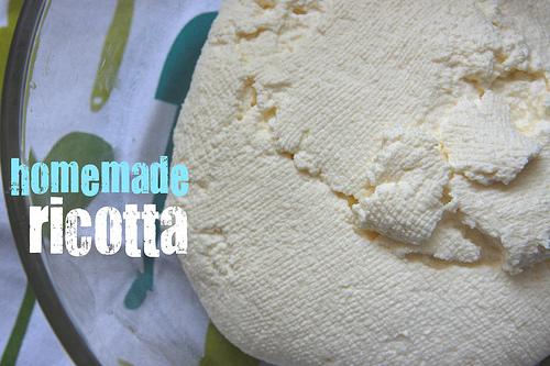 Homemade Ricotta