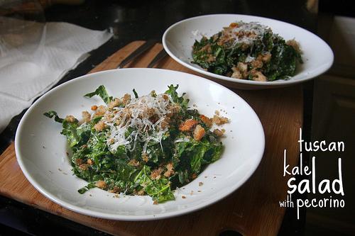 Tuscan Kale Salad w/ Pecorino
