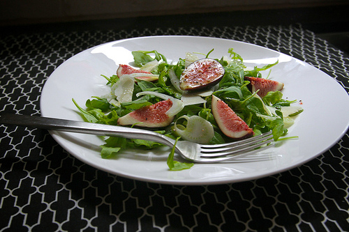 Arugula Fig & Fennel Salad