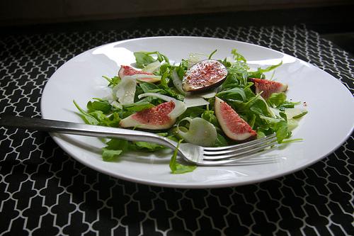 Arugula Fig & Fennel Salad